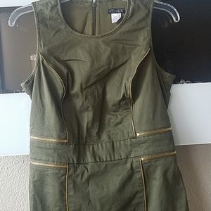 Army green military dress